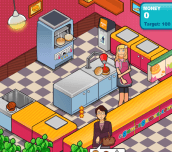 Hra - Burger Restaurant