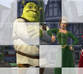 Hra - Shrek puzzle 1
