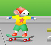 Hra - Stuart Skateboard