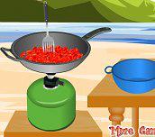 Hra - Pepper steak barbeque