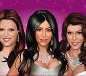 Hra - KardashianSistersMakeUp