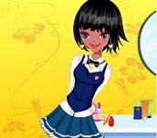 Hra - Oblékání kamarádek ze školy