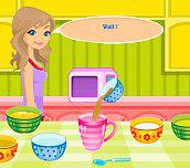 Hra - Rychlý čokoládový koláč