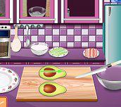 Hra - Sářina lekce vaření - Kalifornské rolky