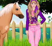 Hra - Barbie goes riding