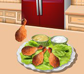 Hra - Sářina lekce vaření  - pečené kuře