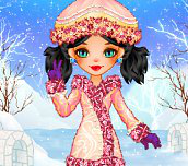 Eskimo Beauty Dress Up