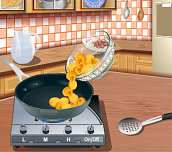 Hra - Sářina leklce vaření - těstoviny Carbonara