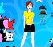 Hra - Barbie Dressup 2