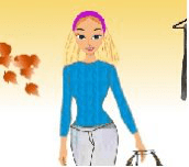 Hra - Podzimní barbie dress up