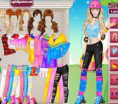 Hra - Barbie on rollers