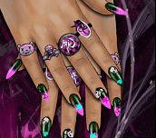 Hra - Emo Nail Design