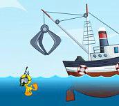 Hra - Tweety´s Ocean Cleaning