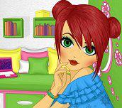 Pihovatá dívka