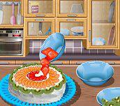 Sářina lekce vaření - ovocný dort
