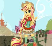Hra - EquestriaGirlsApplejack