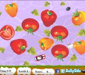 Hra - Hello Kitty Veggi Drive