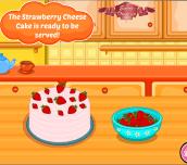Hra - Hello Kitty Strawberry Cheese Cake