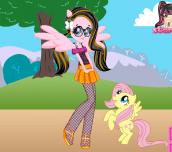 Hra - Equestria Girls Fluttershy