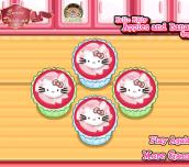 Hra - Hello Kitty Apples And Bananas Cupcakes