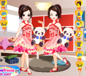 Hra - TwinsDressUp