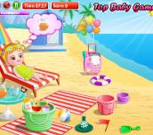 Hra - Baby Hazel At Beach