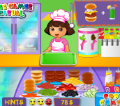 Hra - Dora Fun Cafe