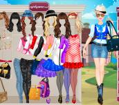 Hra - BarbieCollegePrincessDressUp