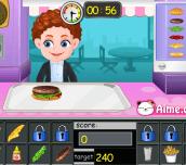 Hra - BabyHamburgerShop