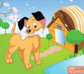 Hra - CutePuppyDressUp