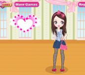 Hra - CuteBowDressUpGame