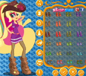 Hra - MyLittlePonyRainbowRocksApplejackDressUp