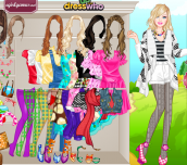 Hra - BarbieSpringStyleDressUp