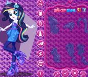 Hra - My Little Pony Rainbow Rocks Rarity Dress Up