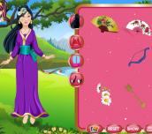Princess Mulan Hanfu Style