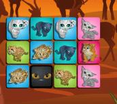 Hra - Big Cat Memory Game