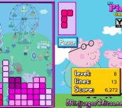 Hra - Peppa Pig Tetris