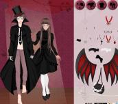 Vampire Couple Dress Up