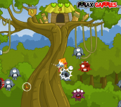 Hra - Treehouse Hero