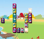 Hra - The Smurfs Mahjong