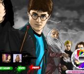 Hra - Harry Potter Online Coloring 2