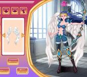 Hra - WarriorGirlDressup