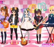 Hra - K-On Dress Up