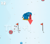 Hra - Prumpa Goes Skiing