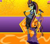 Hra - Monster High Casta Fierce Dress Up