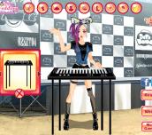 Hra - RockbandKeyboardGirl