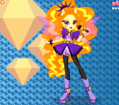 Hra - Rainbow Rocks Adagio Dazzle Dress Up