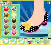 Hra - Princess Ariel Shoes Design