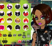 Hra - Cool Emo Girl Makeover