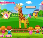 Hra - Cute Giraffe Care